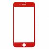 Защитное стекло для Apple iPhone 7 Plus (REMAX Gener Anti Blue-ray 3D Glass 0L-00034631) (красный, с рамкой) - Защитное стекло, пленка для телефонаЗащитные стекла и пленки для мобильных телефонов<br>Защитное стекло предназначено для защиты дисплея устройства от царапин, ударов, сколов, потертостей, грязи и пыли.<br>