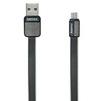 Кабель USB-MicroUSB 1м (REMAX Platinum Series Cable RC-044m) (черный) - Usb, hdmi кабель, переходникUSB-, HDMI-кабели, переходники<br>Высококачественный кабель для зарядки и синхронизации устройств с разъемами USB - MicroUSB, длина 1 м.<br>