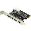 Espada PCIe4USB3.0 OEM - КонтроллерКонтроллеры<br>Контроллер PCI-E, 4 внешних порта USB, тип USB 3.0.<br>