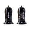 Универсальное автомобильное зарядное устройство, адаптер 2хUSB 2.1А (REMAX Mini Car Charger RCC201 mini) (черный)  - Автомобильный адаптерАвтомобильные адаптеры 12v - USB<br>Автомобильное зарядное устройство идеально подходит для зарядки гаджетов. Работает от прикуривателя автомобиля. Защита от короткого замыкания и перегрузок.<br>