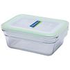 Контейнер Glasslock OCRT-090P - Посуда для готовкиПосуда для готовки<br>Контейнер прямоугольный, объем - 0.9 л, материал - закаленное стекло.<br>