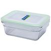 Контейнер Glasslock OCRT-090A - Посуда для готовкиПосуда для готовки<br>Контейнер прямоугольный, объем - 0.9 л, материал - закаленное стекло.<br>