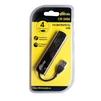 USB HUB 4 порта (Ritmix CR-2406) (черный) - USB HUBUSB HUB<br>Ritmix CR-2406 - USB-концентратор на 4 порта, USB 2.0 Full High Speed, 480 Мбит/c, пластик.<br>