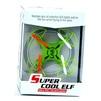Super Cool ELF mini RC Quadcopter (зеленый) - КвадрокоптерКвадрокоптеры<br>Квадрокоптер электрический, винты 4 шт, акробатический режим, 6-осевая система стабилизации гироскопа - лучшая антиинтерференционная способность 2.4 ГГц, устойчив к ветру, подходит для полета в помещении или на открытом воздухе, трехмерный разворот, вращение на 360 градусов, пульт дистанционного управления, рабочая температура -5...+40°С.<br>