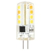 Светодиодная лампа Smartbuy SBL-G4 3_5-64K - ЛампочкаЛампочки<br>Светодиодная лампа Smartbuy G4 — энергосберегающая лампа общего и декоративного освещения. Колба лампы выполнена в форме капсулы. Лампа G4 повторяет форму и размеры стандартных галогенных капсульных ламп и идеально подходит к любому светильнику, в котором используются данные типы ламп.<br>