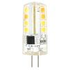 Светодиодная лампа Smartbuy SBL-G4 4_5-30K - ЛампочкаЛампочки<br>Светодиодная лампа Smartbuy G4 — энергосберегающая лампа общего и декоративного освещения. Колба лампы выполнена в форме капсулы. Лампа G4 повторяет форму и размеры стандартных галогенных капсульных ламп и идеально подходит к любому светильнику, в котором используются данные типы ламп.<br>