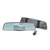 Navitel MR250 (черный) - Автомобильный видеорегистраторВидеорегистраторы<br>5-дюймовое smart-зеркало заднего вида, которое сочетает в себе функции, необходимые для безопасного вождения. Устройство оснащено видеорегистратором, который записывает все, что происходит на дороге перед вашим автомобилем, и дополнительной камерой заднего вида.<br>