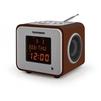 Telefunken TF-1575 (коричневый) - РадиоприемникРадиоприемники<br>Цифровой FM-тюнер (65 – 108 МГц), воспроизведения MP3-файлов с USB-накопителей, SD/MMC-карт, жидкокристаллический дисплей с подсветкой, эквалайзер с предустановленными режимами, цифровые часы, будильник, календарь, термометр, линейный вход.<br>