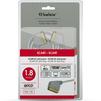 Кабель SCART 21 pin (M) - SCART 21 pin (M) 1.8м (Belsis BGL1150) (серый) - Кабель, переходник для TV и видео