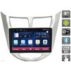 Штатная магнитола для HYUNDAI SOLARIS I, I RESTYLE (Avis AVS090AN (#006)slim) - АвтомагнитолаАвтомагнитолы<br>Штатная магнитола для HYUNDAI SOLARIS I, I RESTYLE на Android с сенсорным Multi touch экраном 9 и четырехъядерным процессором.<br>