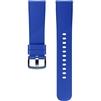 Ремешок для Samsung Gear Sport (ET-YSN60MLEGRU) (синий) - Ремешок для умных часовРемешки для умных часов<br>Теперь сменить ремешок на ваших часах стало проще простого. Просто нажмите на специальные кнопки на ваших Samsung Gear Sport и выньте ремешок из крепежа.<br>