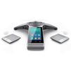 Yealink CP960 + 2 CPW90 - IP телефонVoIP-оборудование<br>Комплект из SIP конференц телефона Yealink CP960 и 2 микрофонов Yealink CPW90.<br>