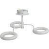 Люстра Smartbuy SBL-СL-42W-310-4К (белый) - Настольная лампа, ночник, светильник, люстраНастольные лампы, светильники, ночники, люстры<br>Светодиодная люстра (LED) применяется без использования дополнительных ламп, мощность 42 Вт, материалы - сталь, полимер, алюминий.<br>