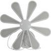 Люстра Smartbuy SBL-СL-75W-312-White (белый) - Настольная лампа, ночник, светильник, люстраНастольные лампы, светильники, ночники, люстры<br>Светодиодная люстра (LED) применяется без использования дополнительных ламп, мощность 75 Вт, материалы - сталь, полимер, алюминий.<br>