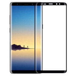 Защитное стекло для Samsung Galaxy Note 8 (WK Star Trek 3D Curved Edge 0L-00034846) (черный, с рамкой)