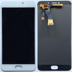 Дисплей для Meizu M3 Note с тачскрином Qualitative Org (lcd) (белый)