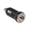 Универсальное автомобильное зарядное устройство, адаптер 1хUSB, 1A (AurA TPA-S010) (черный) - Автомобильный адаптерАвтомобильные адаптеры 12v - USB<br>Универсальное автомобильное зарядное устройство, ток - 1А.<br>