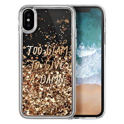 Чехол-накладка для Apple iPhone X (LAUT POP LAUT_IP8_POP_GL) (GLITTER GLAM)