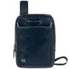 Сумка Piquadro Blue Square CA3978B2/BLU2 (синий) - Чемодан, сумка, рюкзакЧемоданы, сумки, рюкзаки<br>Имеет два отделения на молнии и карман между ними. Отлично подойдет для переноски планшета, записной книжки, телефона, ключей и прочих небольших вещей. Изготовлена из телячьей кожи.<br>