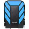 ADATA DashDrive Durable HD710 Pro 2Tb (AHD710P-2TU31-CBL) (синий) - Жесткие дискиЖесткие диски<br>Внешний жесткий диск, объем 2000 Гб, 1 HDD 2.5 внутри, интерфейс USB 3.1, противоударный, водостойкий.<br>
