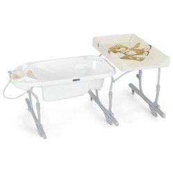 Анатомическая ванночка с подставкой и шлангом CAM Removable Idro Baby