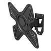 Vobix VX-4012 B (черный) - Подставка, кронштейнПодставки и кронштейны<br>Подходит для большинства ЖК телевизоров от 26 до 40 дюймов (66 - 102 см) со схемой крепежных отверстий VESA 100х100, 200х100, 200х200 мм, наилучший угол зрения обеспечивается наклоном одним движением в пределах 0°, -12°, расстояние от стены 113 мм, максимальная нагрузка до 15 кг.<br>