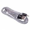 Кабель Lightning - USB для Apple iPhone Apple iPhone 5, 5C, 5S, SE, 6, 6 plus, 6S, 6S Plus, 7, 7 Plus, 8, 8 Plus, X, iPad 4, Air, Air 2, ipad 2017, Pro 9.7, Pro 12.9, Pro 10.5, mini 1, mini 2, mini 3, mini 4 (Ritmix RCC-322) (черный) - Usb, hdmi кабель, переходникUSB-, HDMI-кабели, переходники<br>Предназначен для зарядки и передачи данных между компьютером и мобильными устройствами с разъёмом 8 pin. Силиконовая оплетка, металлические коннекторы, пропускает ток до 2А.<br>