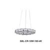 Люстра Smartbuy Crystal SBL-CR-18W-160-4K - Настольная лампа, ночник, светильник, люстраНастольные лампы, светильники, ночники, люстры<br>Светодиодная люстра существенно снижает энергопотребление, не содержат ртути и других вредных веществ для здоровья и окружающей среды, долговечна.<br>