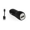 Автомобильное зарядное устройство, адаптер 1хUSB, 2.1A (Smartbuy NOVA MKII SBP-1503MC) (черный) - Автомобильный адаптерАвтомобильные адаптеры 12v - USB<br>Автомобильное зарядное устройство + кабель MicroUSB.<br>