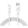 Кабель USB-Lightning 0.9м (Anker PowerLine+ A8121H22) (белый) - Usb, hdmi кабель, переходникUSB-, HDMI-кабели, переходники<br>Кабель для синхронизации и зарядки устройства, разъемы: USB-Lightning. Изготовлен из высококачественных материалов. Сердечник из арамидного волокна, алюминиевые коннекторы. Длина кабеля 0.9 м.<br>