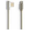 Кабель USB-Lightning 1м (REMAX Emperor Series Cable RC-054i) (золотистый) - Usb, hdmi кабель, переходникUSB-, HDMI-кабели, переходники<br>Кабель для синхронизации и зарядки устройства, разъемы: USB-Lightning. Изготовлен из высококачественных материалов. Длина кабеля 1 м.<br>