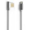Кабель USB-Lightning 1м (REMAX Emperor Series Cable RC-054i) (серебристый) - Usb, hdmi кабель, переходникUSB-, HDMI-кабели, переходники<br>Кабель для синхронизации и зарядки устройства, разъемы: USB-Lightning. Изготовлен из высококачественных материалов. Длина кабеля 1 м.<br>