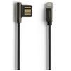 Кабель USB-Lightning 1м (REMAX Emperor Series Cable RC-054i) (черный) - Usb, hdmi кабель, переходникUSB-, HDMI-кабели, переходники<br>Кабель для синхронизации и зарядки устройства, разъемы: USB-Lightning. Изготовлен из высококачественных материалов. Длина кабеля 1 м.<br>