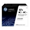 Картридж для HP LaserJet Pro M501, Enterprise M506, M527 (CF287XF HP 87X) (черный) (2 шт) - Картридж для принтера, МФУКартриджи<br>Картридж совместим с моделями: HP LaserJet Pro M501, Enterprise M506, M527.<br>