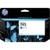 Картридж для HP DesignJet Z2600, Z5600 (F9J97A HP 745) (голубой) - Картридж для принтера, МФУКартриджи для принтеров и МФУ<br>Картридж совместим с моделями: HP DesignJet Z2600 PostScript 24, Z5600 PostScript 44<br>
