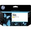 Картридж для HP DesignJet Z2600, Z5600 (F9J96A HP 745) (желтый) - Картридж для принтера, МФУКартриджи<br>Картридж совместим с моделями: HP DesignJet Z2600 PostScript 24, Z5600 PostScript 44<br>