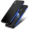 Чехол-накладка для Apple iPhone X (Baseus Bumper Case WIAPIPHX-BM15) (темно-синий) - Чехол для телефонаЧехлы для мобильных телефонов<br>Обеспечит надежную защиту вашего мобильного устройства от повреждений, загрязнений и других нежелательных воздействий.<br>