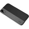 Чехол-накладка для Apple iPhone X (Baseus Half to Half ARAPIPHX-RY01) (черный) - Чехол для телефонаЧехлы для мобильных телефонов<br>Обеспечит надежную защиту вашего мобильного устройства от повреждений, загрязнений и других нежелательных воздействий.<br>