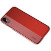 Чехол-накладка для Apple iPhone X (Baseus Half to Half ARAPIPHX-RY09) (красный) - Чехол для телефонаЧехлы для мобильных телефонов<br>Обеспечит надежную защиту вашего мобильного устройства от повреждений, загрязнений и других нежелательных воздействий.<br>