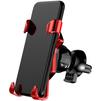 Автомобильный держатель Baseus X Air Vent Car Mount Holder SUTPX-09 (красный)  - Автомобильный держатель для телефонаАвтомобильные держатели для мобильных телефонов<br>Автомобильный держатель для смартфонов, установка в дефлектор автомобиля, надежное крепление телефона, шарнирное крепление, легкое и плавное изменение положения, все порты и разъемы в свободном доступе.<br>