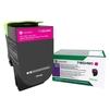 Тонер картридж для Lexmark CX417, CX517, CS417, CS517 (71B5HM0) (пурпурный) - Картридж для принтера, МФУКартриджи для принтеров и МФУ<br>Картридж совместим с моделями: Lexmark CX417, CX517, CS417, CS517.<br>