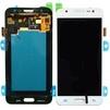 Дисплей для Samsung Galaxy J5 J500H с тачскрином Qualitative Org (LP) (белый)   - Дисплей, экран для мобильного телефонаДисплеи и экраны для мобильных телефонов<br>Полный заводской комплект замены дисплея для Samsung Galaxy J5 J500H. Стекло, тачскрин, экран для Samsung Galaxy J5 J500H в сборе. Если вы разбили стекло - вам нужен именно этот комплект, который поставляется со всеми шлейфами, разъемами, чипами в сборе.<br>Тип запасной части: дисплей; Марка устройства: Samsung; Модели Samsung: SM-J500H; Цвет: белый;
