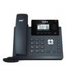 Yealink SIP-T40G (черный) - IP телефонVoIP-оборудование<br>На задней стороне телефона предусмотрен специальный разъем EHS для подключения Yealink EHS36. Этот адаптер предназначен для подключения к телефону беспроводных гарнитур Jabra, Plantronics и Sennheiser.<br>
