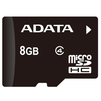 A-Data microSDHC Class 4 UHS-I 8GB (OTG/USB Reader) - Карты памятиКарты памяти<br>A-Data microSDHC Class 4 8GB - карта памяти microSDHC, Class 4, объем 8 Гб, скорость чтения 10 Мб/с, скорость записи 4 Мб/с, UHS-I, в комплекте microUSB и USB ридер.<br>
