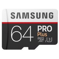 Samsung microSDXC PRO Plus 100MB/s 64GB + SD adapter
