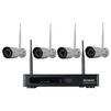 Falcon Eye FE-1104WIFI KIT - Готовый комплект видеонаблюденияГотовые комплекты видеонаблюдения<br>Беспроводной комплект видеонаблюдения для загородного дома, магазина, офиса или квартиры. Комплект состоит из регистратора и четырех камер с ИК подсветкой.<br>