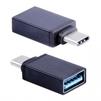 OTG переходник USB Type C-USB (Blast BMC-602) (черный) - Usb, hdmi кабель, переходникUSB-, HDMI-кабели, переходники<br>Blast BMC-602 - высококачественный адаптер-переходник, предназначен для подключения USB-устройств к мобильной технике, оснащенной интерфейсом USB Type C и поддерживающей функцию OTG. Может использоваться для зарядки и передачи данных. Скорость передачи данных до 5 Гбит/сек.<br>