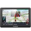 Prestigio GeoVision 5066 Progorod (темно-серый) - Автомобильный GPS навигаторGPS-навигаторы<br>Автомобильный,  с радар-детектором, ПО: Progorod, 5, MP3, фото, видео, USB, 4096Мб памяти.<br>