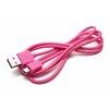 Кабель USB-MicroUSB 1м (REMAX Light Series Cable RC-06m) (розовый) - Usb, hdmi кабель, переходникUSB-, HDMI-кабели, переходники<br>Высококачественный кабель для зарядки и синхронизации устройств с разъемами USB - MicroUSB, длина 1 м.<br>