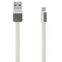 Кабель USB-MicroUSB 1м (REMAX Platinum Series Cable RC-044m) (белый)